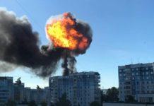 Взрыв газовой АЗС в Новосибирске